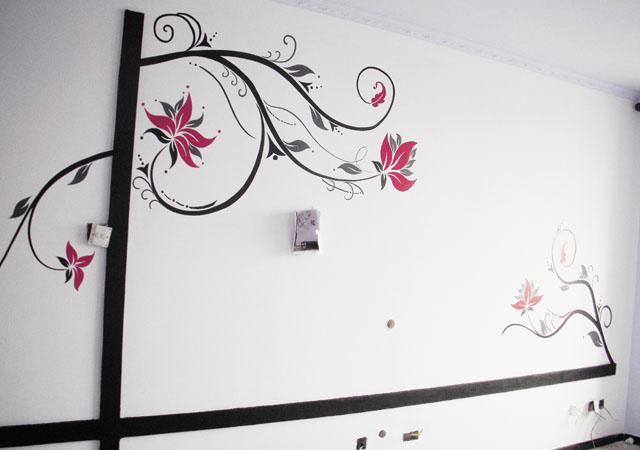 墙体手绘06